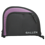 Allen Auto-Fit 1-Pocket Handgun Case Measures 9.5x7.25 Inches Black/Purple 7711