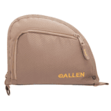 Allen Auto-Fit 1-Pocket Handgun Case Ripstop Material Measures 9.5x7.25 Inches Taupe 7714A