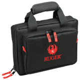 Allen Ruger Duoplex Attache 9x11.5 Inches Black/Red 27435