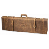 Browning Distressed Fitted Gun Shotgun Case Leather