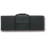 Bulldog Hard Sided Nylon 40in X 14 in. Rifle Tactical Case Black for AR 15