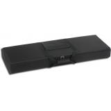 Buldog Hard-Sided Nylon 40in x 14 in. Tactical Case, Black - Black Foam