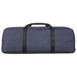 Bulldog Cases Ultra Compact In. AR-15 Discreet Carry Rifle Case 29 In. - Navy Blue
