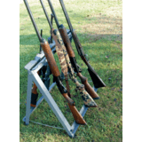 GPS Wild About Hunting Camp Metal Gun Stand- Holds 13 Shotguns