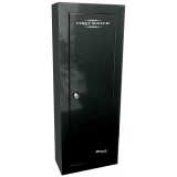 Homak Gun First Watch Black Steel Cabinet, Store 8 guns