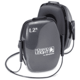 Leightning Noise Blocking Neckband Earmuffs L1N 1011994 by Howard Leight