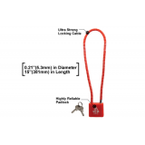 Leapers UTG Ultra Strong Firearm Cable Lock GLK5315