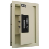 Mesa Safes Adjustable Wall Safe - Off White Finish