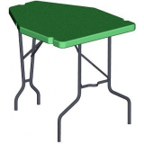 Forest Green Shooting Table PST11 by MTM