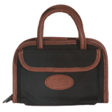 Outdoor Connection Supreme Rectangular Pistol Case Canvas and Leather Trim w/Handle 11 in.