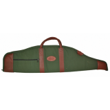 Outdoor Connection Supreme Scoped Gun Case Canvas/Leather w/Pocket and Handles 38 in.
