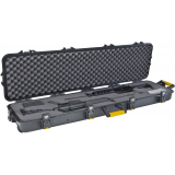 Plano Molding All Weather Double Scoped Rifle/Shotgun Wheeled Case - 54.6in
