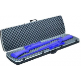 Plano Moulding  10-10252 DLX Black Double Scoped Rifle Case