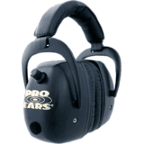 Pro Mag Shooting Hearing Protection Headsets GS-DPM-Black by Pro-Ears
