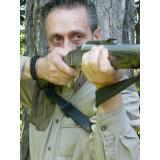 Slogan Outdoors Long Magnum Heavy Weight Sling W/brute Swivels Black