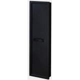 Stack-On Long Gun Wall Safe w/Electronic Lock,Matte Black