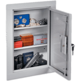 Stack-On Mid Sized In Wall Steel Cabinet
