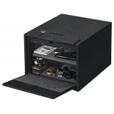 Stack-On QAS1200 ELECTRONIC QUICK ACCESS SAFE Gun Safe Black