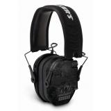 Walkers Game Ear Electronic Muff Razor Slim 23db Black