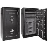 Winchester Safes L7242537E Legacy 53 Gun Safe Black