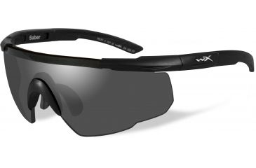 5f72433aef7 Wiley-X Saber Advanced Sunglasses - Matte Black Frame w  2 Lens Package (