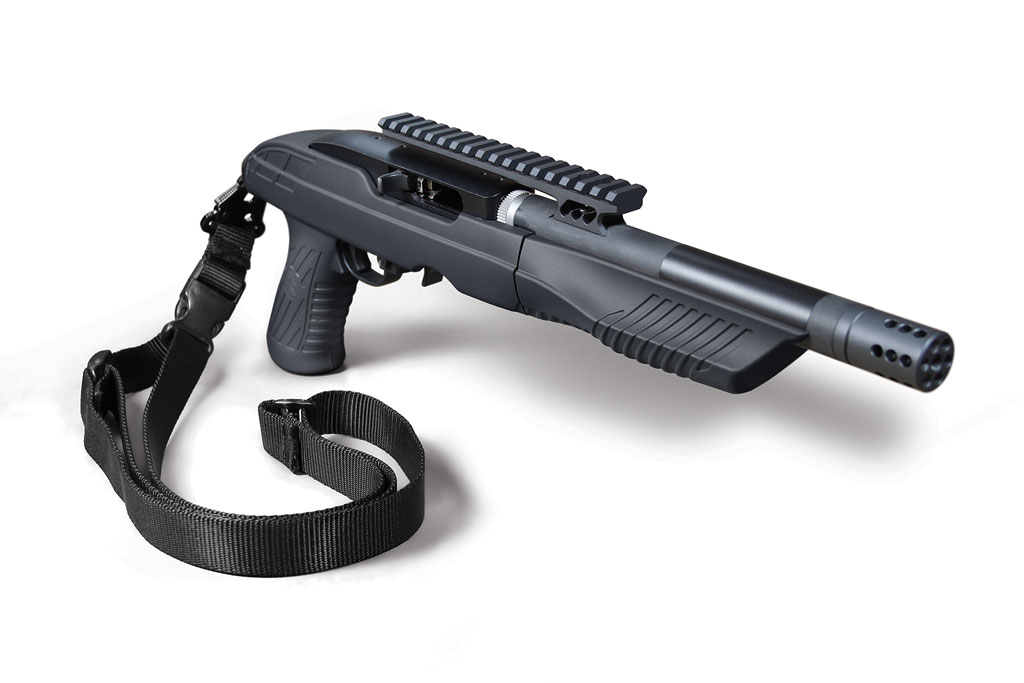 Adaptive Tactical Tac-Hammer TK22C Ruger Charger Takedown Stock with Sling