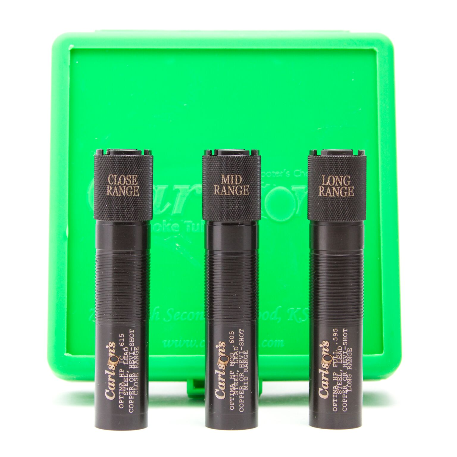 Carlson's Choke Tubes Beretta Optima HP 20 Gauge Super Steel Choke Tube Set
